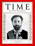 1930 ♦ November 3, Haile Selassie, was Ethiopia's regent from 1916 to 1930 and Emperor from 1930 to 1974.