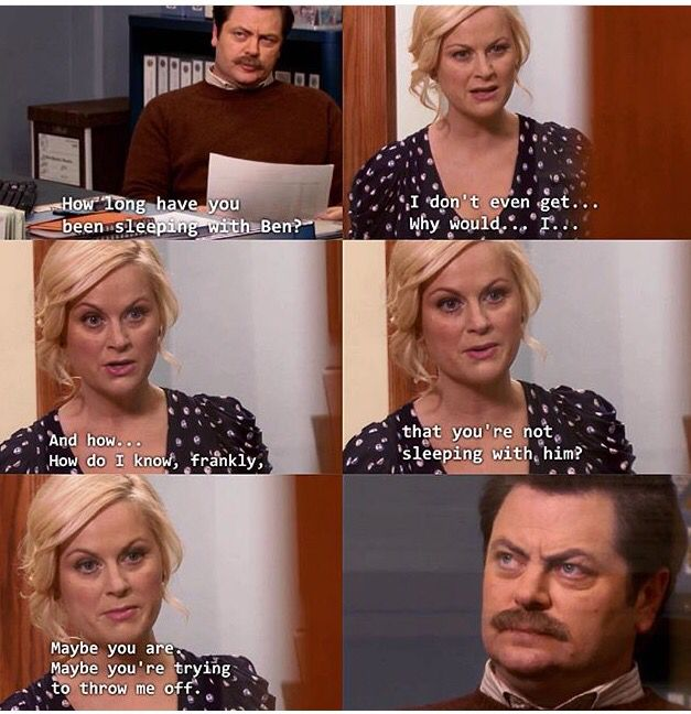 Leslie and Ron - Parks and Recreation