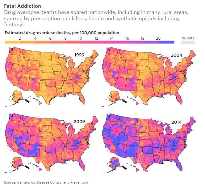 Gun Violence In Us Way Down Over Past Decades But Drug Related Deaths Criminy
