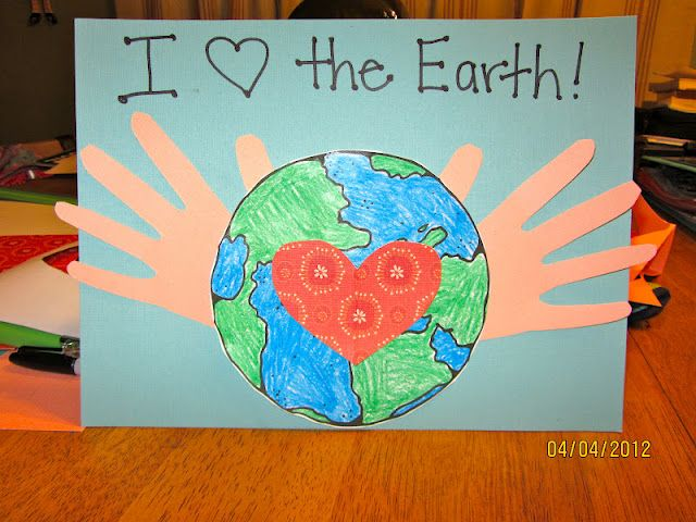 cute Earth Day project