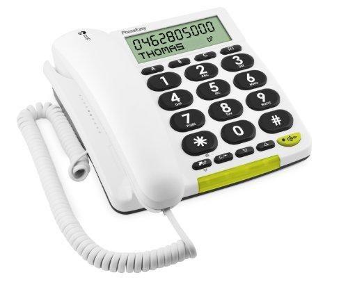 Oferta: 43.68€ Dto: -25%. Comprar Ofertas de Doro PhoneEasy 312CS - Teléfono fijo digital (pantalla LCD, manos libres, identificador de llamadas), blanco barato. ¡Mira las ofertas!
