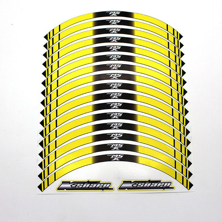 ==> [Free Shipping] Buy Best 16 X Thick Edge Outer Rim Sticker Stripe Decals FIT HONDA MSX 125 Online with LOWEST Price | 32808069486