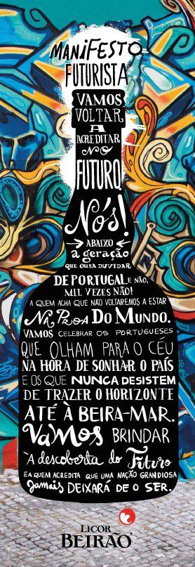Licor Beirão - Manifesto Futurista