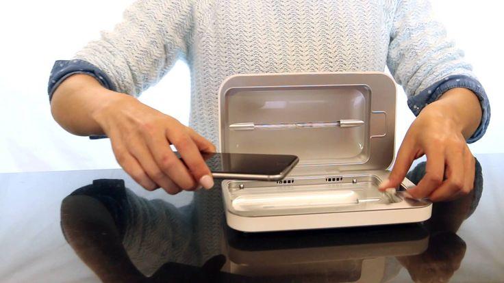 Het creëren van innovatieve producten die passen bij een bedrijf of instantie, bv de #PhoneSoap een oplader & desinfecter voor smartphones in een! Speciaal ontwikkeld voor bacteriegevoelige omgevingen zoals #ziekenhuizen https://youtu.be/llG5RJPZny0