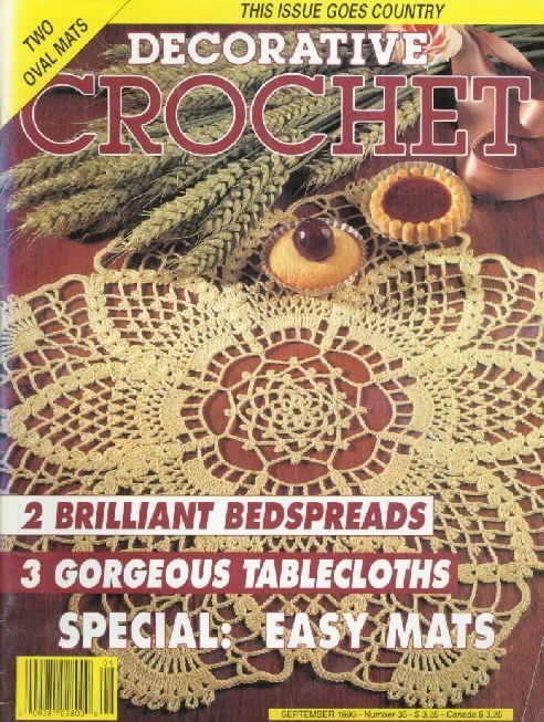 Decorative Crochet Magazines 23 - Gitte Andersen - Picasa Web Albums DEČKY, UBRUSY
