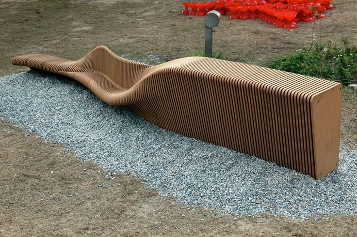 This is a very nice display of parametric furniture.