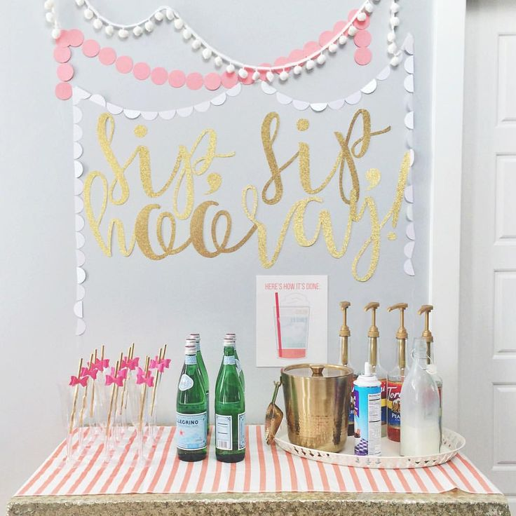 If you need a soda fill, we've got you covered with this Italian soda bar. #lexispinkparty