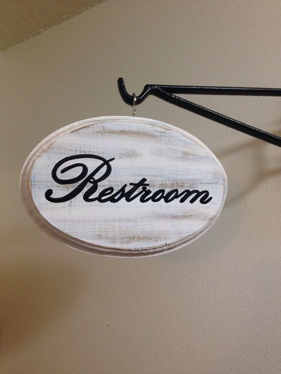 Bathroom Signs Pinterest the 25+ best restroom signs ideas on pinterest | toilet signs