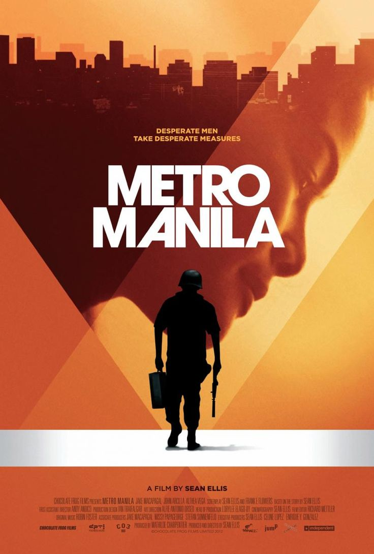Metro Manila,  Reino Unido 2013 Director: Sean Ellis Festival de Sundance 2013, Premio del público (World Cinema)