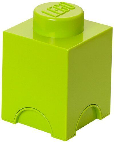 LEGO Storage Brick 1 Lime Green *** Read more reviews of the product by visiting the link on the image.