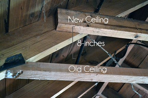 Raising Ceiling Height In Attic Attic Upstairs Ideas
