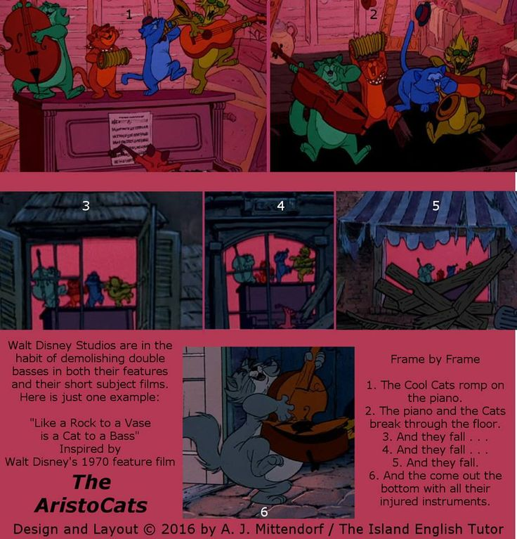 """From Walt Disney's 1970 feature film, """"The AristoCats."""""""