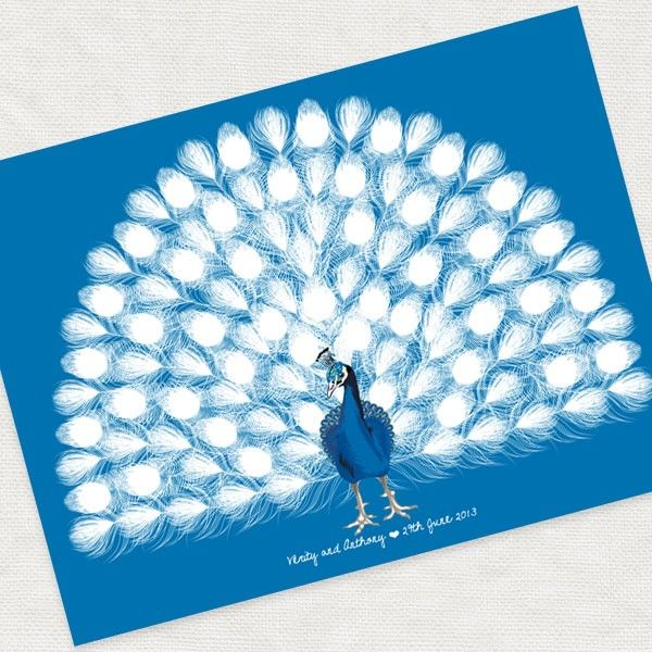 588 best wedding images on pinterest hand painted shabby chic peacock guest book printable file i do it yourself about solutioingenieria Choice Image