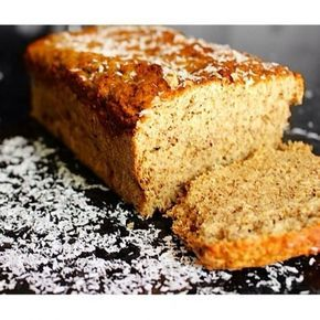 Ripped Recipes - Coconut Bread - High Fiber! High Protein! Low Calorie! Delicious!