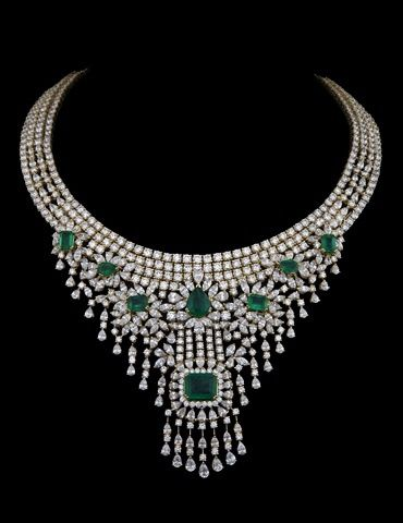 When Emeralds and Diamonds are amalgamated to create a masterpiece!