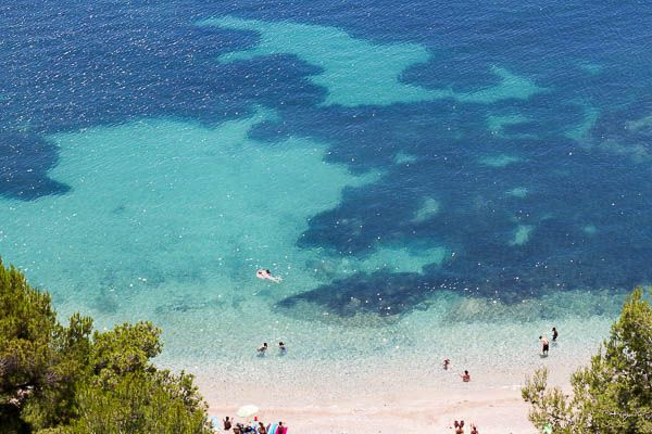 Beautiful beaches and crystal clear water