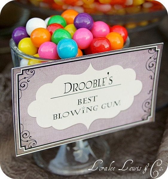 Drooble's Best Blowing Gum for Candy Bar