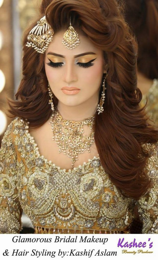 Image Result For Kashee S Hair Style Indian Bridal Makeup Bridal Makeup Looks Bridal Makeup