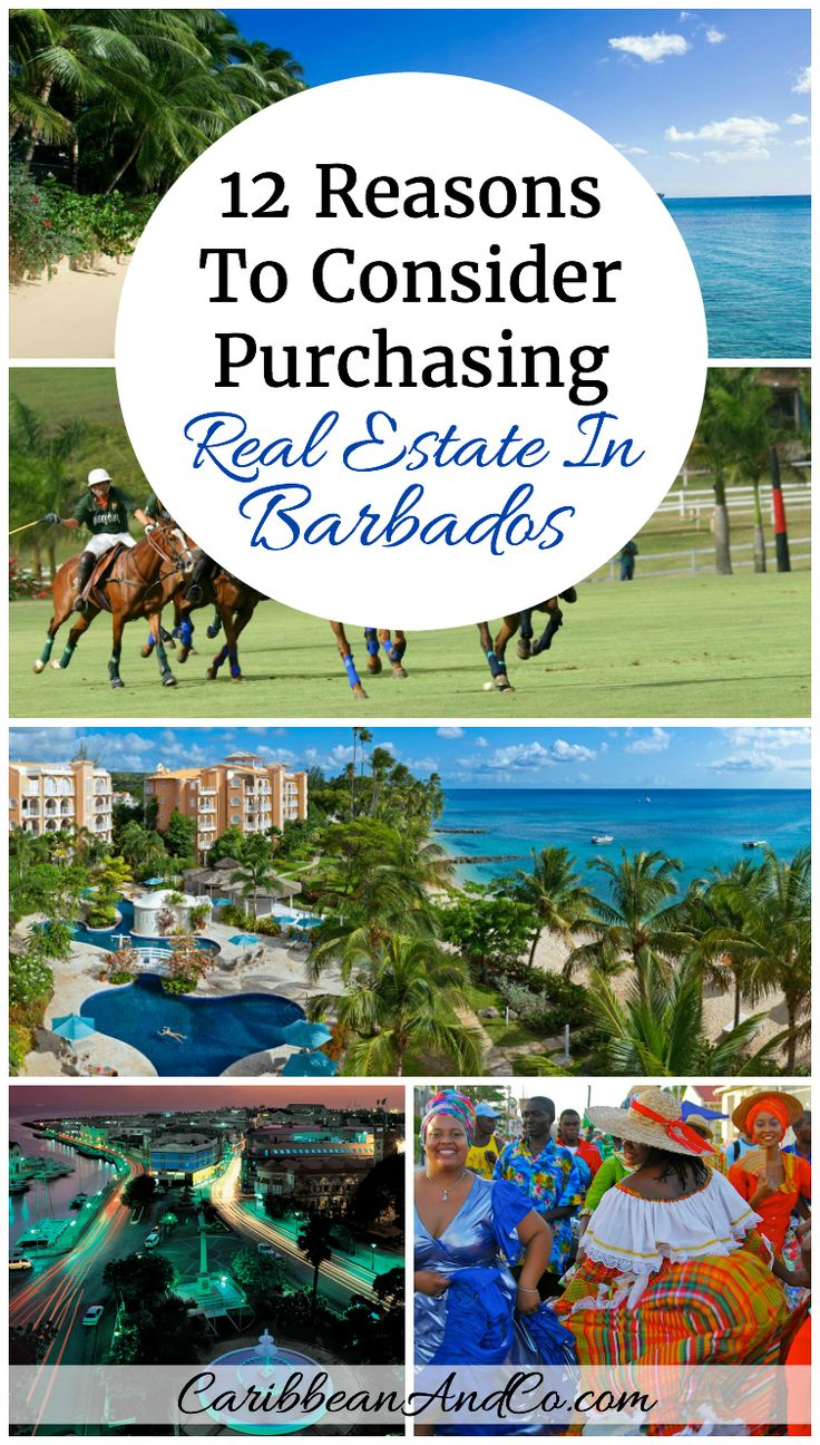 Considering purchasing real estate/luxury home in the Caribbean?  Check out our list of 12 reasons why Barbados should be on the shortlist.