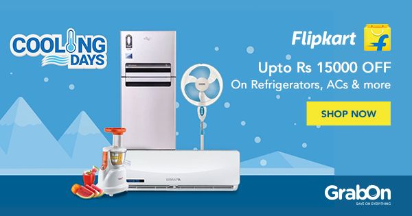 Flip the heat this #Summer! Last day of #Flipkart Cooling Days Offer!   #Summer2017 #onlineshopping #india #offers