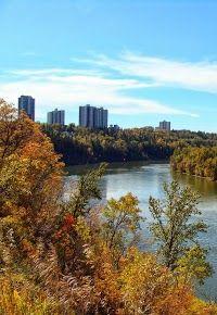 North Saskatchewan River, Alberta, Canada: