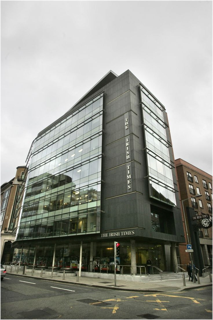 Irish Times Building, 24-28 Tara Street, Dublin 2.  Ph: 01-4727101