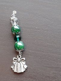 Groene kristal hanger nr 5