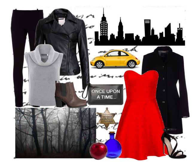 Looks inspired by Emma Swan from Once Upon a Time @thegirlbackstage