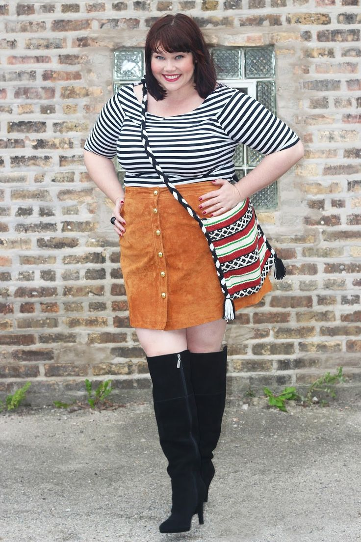 7a10bee32db 5 feminine ways to wear over the knee boots as a plus size girl ...