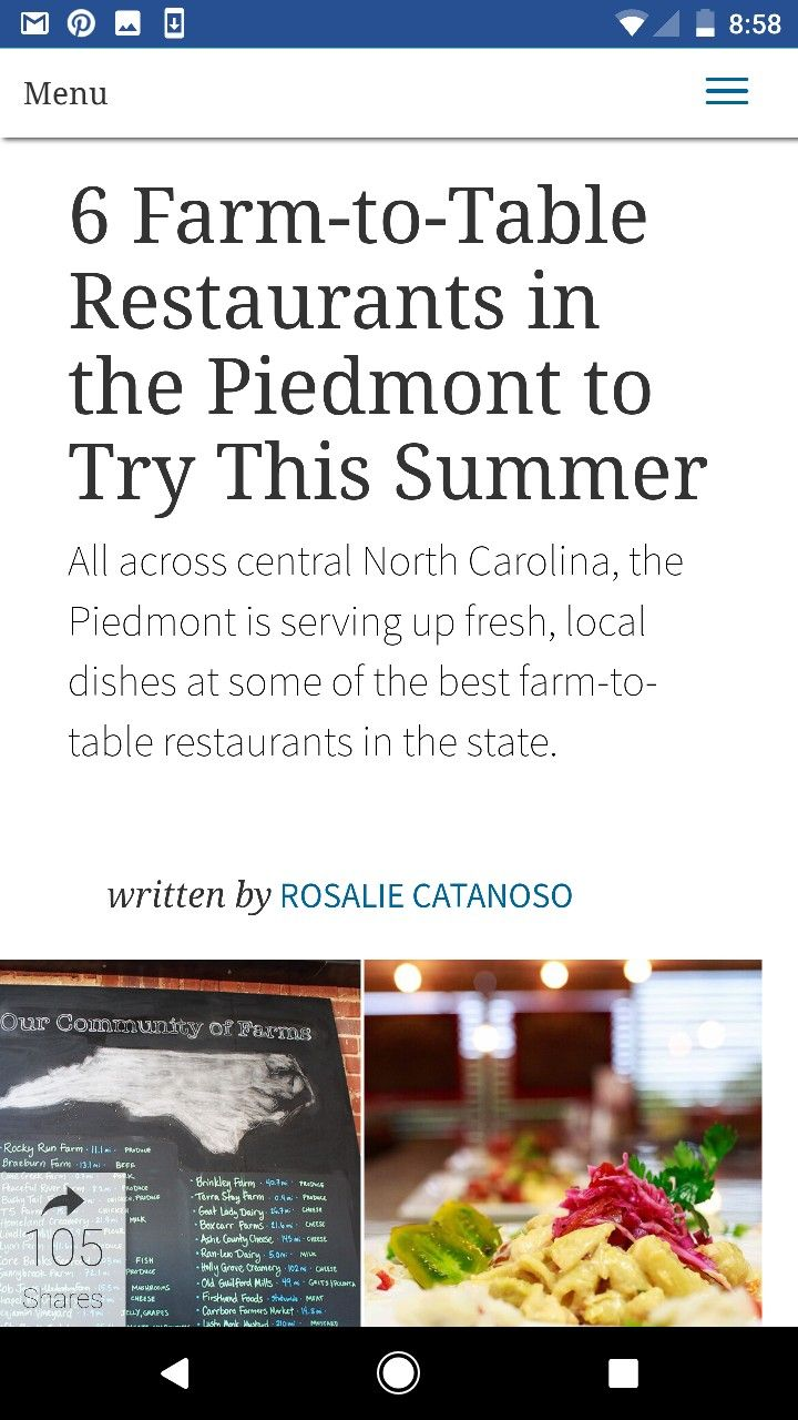 71 best North Carolina Eats images on Pinterest | Blue ridge ...