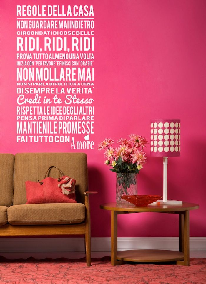 Sono le regole fondamentali di casa mia!!!!!