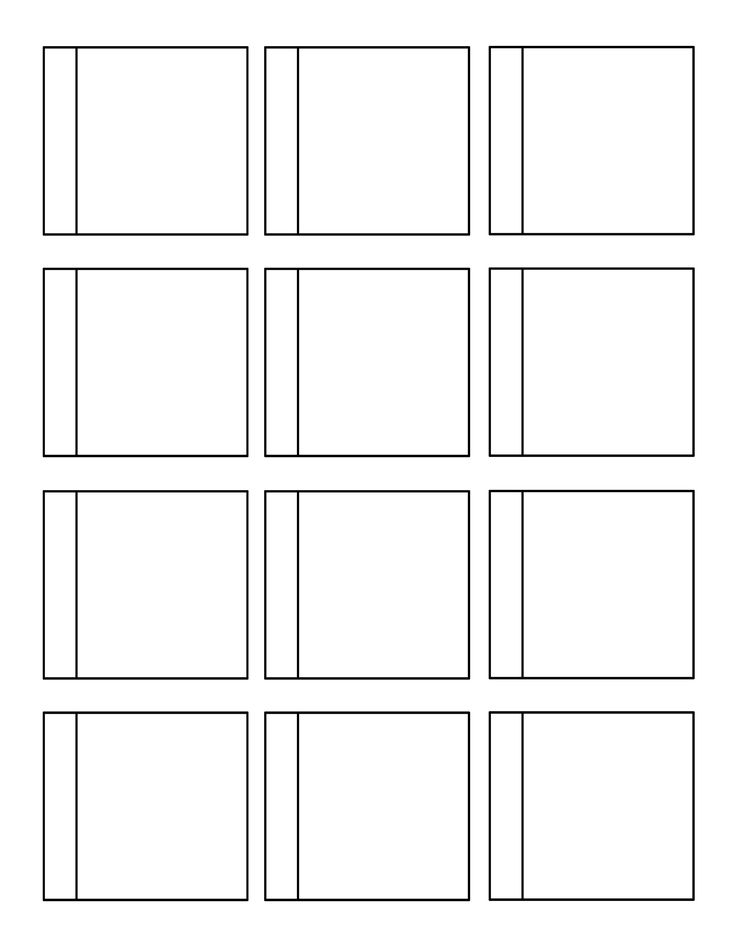animated optical illusions template - flip book intro to animation lesson life in paint
