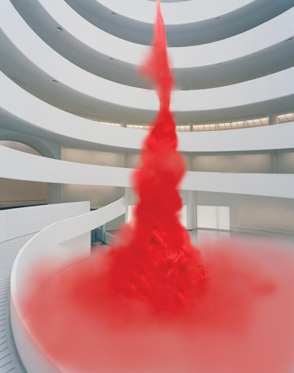 anish kapoor - contemplating the void: interventions in the guggenheim museum