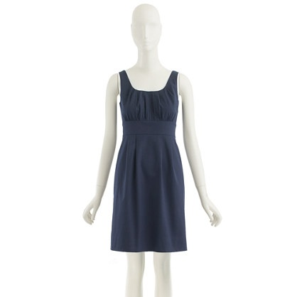Factory cotton shift dress - on sale at J.Crew for 54.50: Jcrew Factories, Crew Navy, Dresses Navy, Factories Dresses, J Crew Factories, Navy Dress, Factories Cotton, Navy Jcrew, Cotton Shift