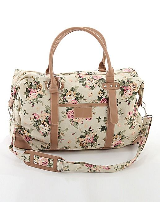 Floral Weekend Bag | Crazy Clearance