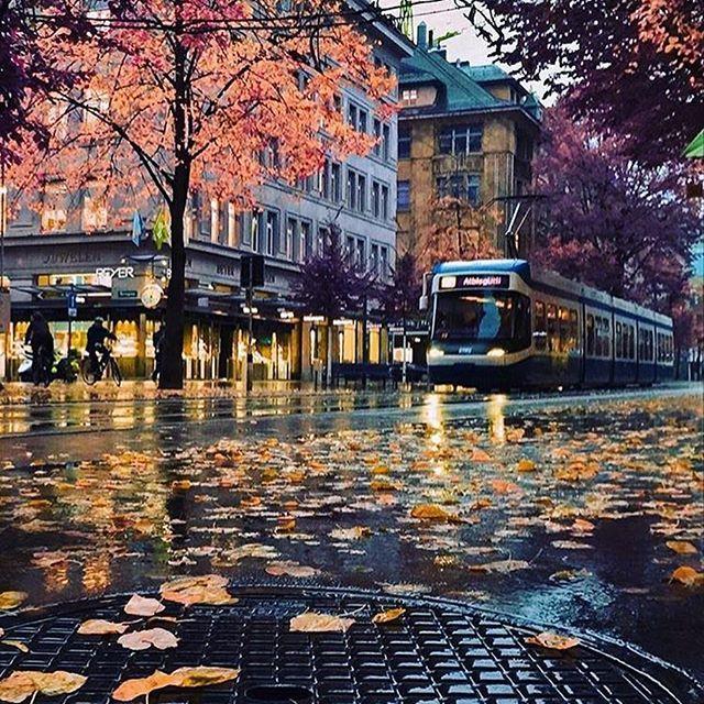 Zurich, Switzerland Photo by @golden_heart  #fantastic_earth