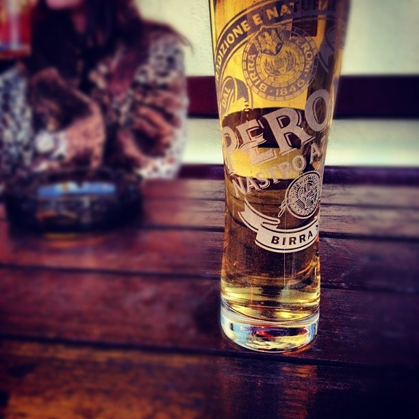 Peroni -love the glass