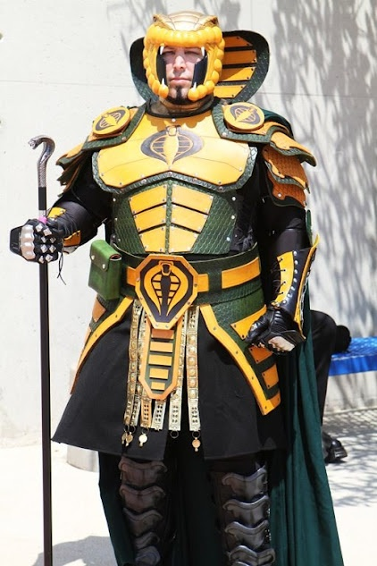 Check out this incredible Serpentor cosplay! #ThisICommand ...