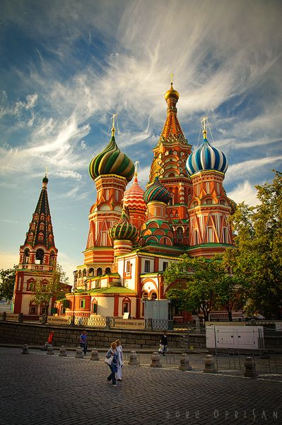 St. Basil's Cathedral, Moscow, Russia.  Here I shall sing the soundtrack to the Hunt for the Red October as loud as I can.