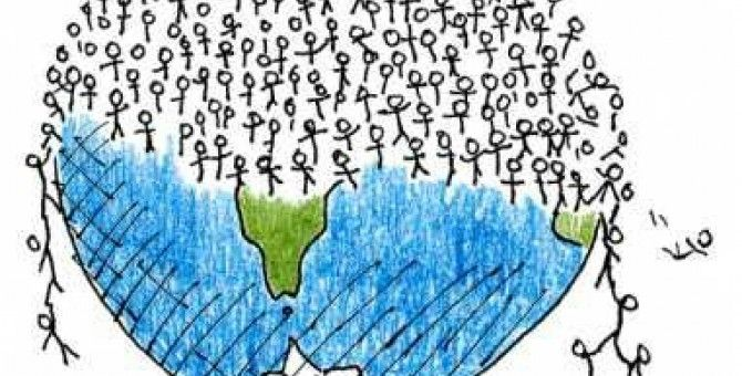 Overpopulation of the world is the greatest concern