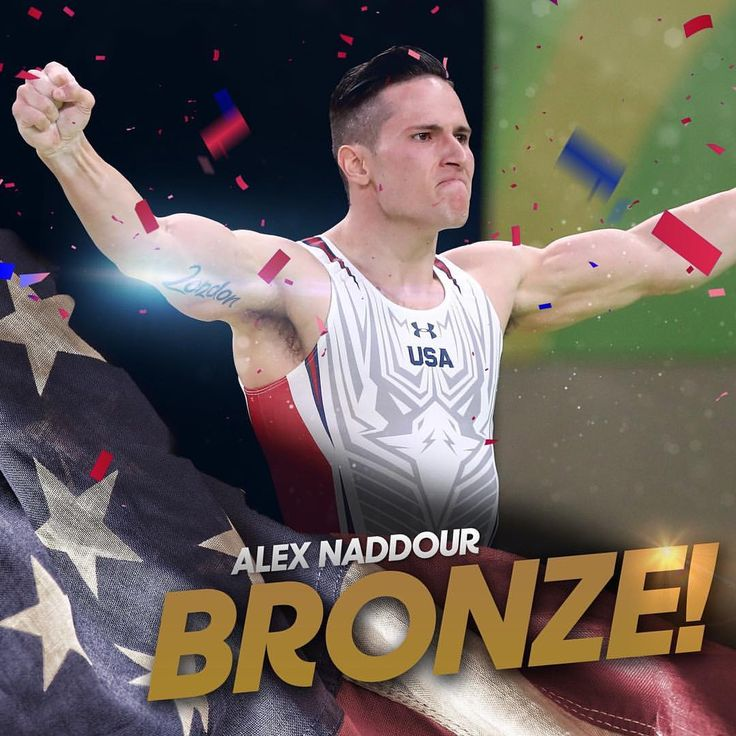 Alex Naddour ends a 32-year Olympic pommel horse drought for Team USA and wins bronze! #Rio2016