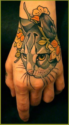 Love the linework, I would prefer black and grey though