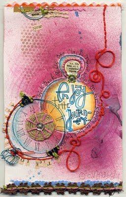 C. D. Muckosky - art journaling to drool over