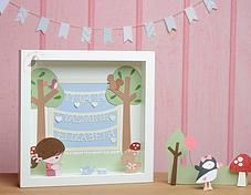 Pink Puffin Crafts | Framed Collection  | £34 | www.pinkpuffincrafts.co.uk
