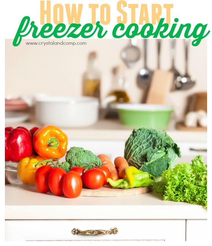 how moms can start freezer cooking
