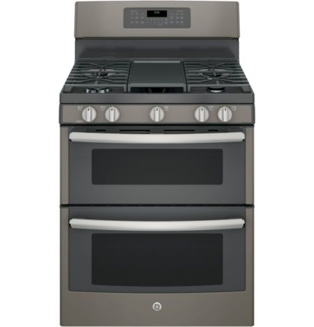 """Buy GE® 30"""" 6.6 Cu. Ft. Free-Standing Double Oven Electric Range with Convection today at jcpenney.com. You deserve great deals and we've got them at jcp!"""
