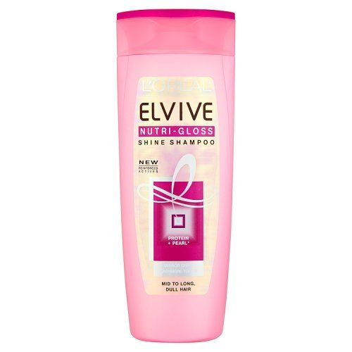L'oreal Paris Elvive Shampoo Nutri-gloss Pearl Protens - 400ml -- To view further for this item, visit the image link.