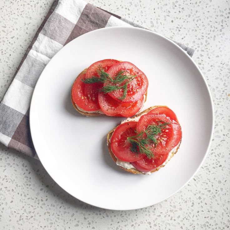 whipped Feta with Tomato and Dill