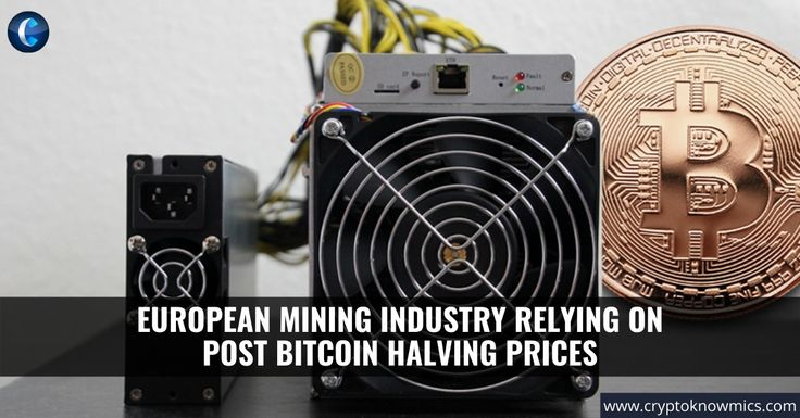 ✅ The bitcoin miners are leaving no stone unturned in preparing for the upcoming bitcoin halving and being well aware of that fact that production cost might double, they're taking the necessary steps to increase profitability. The bitcoin price going up.... Read the full news here 👉🏻   #bitcoin #bitcoinminers #Upcomingbitcoinhalving #Bitcoinprice #bitcoinhalving #bitcoinnews #Bitcoinhalvingprice #cryptocurrency #cryptonews #Blockchaintechnology #Europeanminingindustry