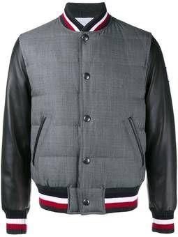 пуховая университетская куртка